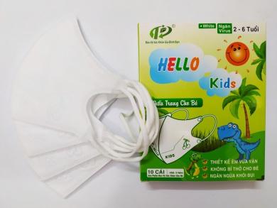 Lý Do Các Bậc Phụ Huynh Tin Dùng Và Lựa Chọn Khẩu Trang 3D Hello Kids